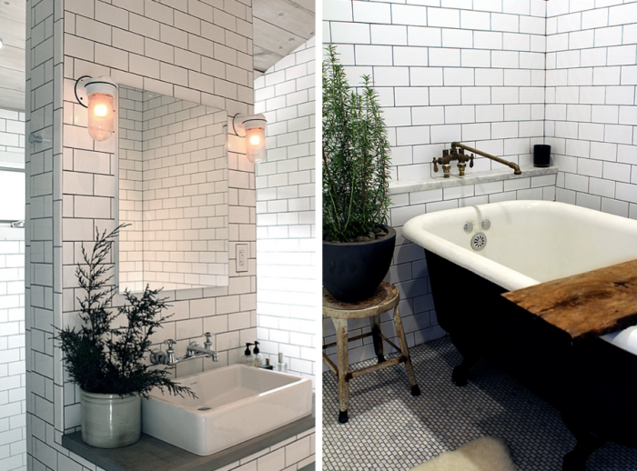 Great Sink And Countertop Look; Ditto Smaller Subway Tiles ...